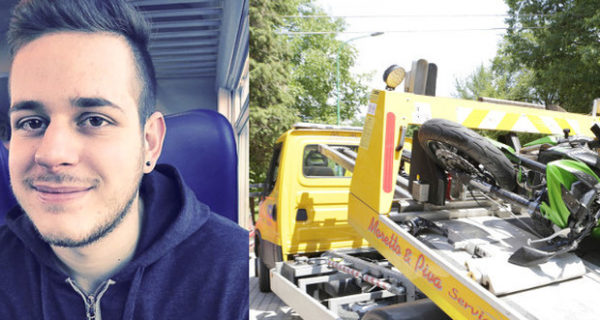 Treviso, tragico schianto in moto: Davide muore a 24 anni