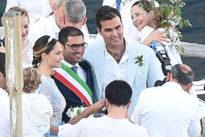 """Noemi Letizia ha detto sì: l'ex """"pupilla"""" di Berlusconi sposa a Nerano"""