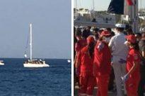 Puglia, 87 migranti arrivano in barca a vela a Santa Maria di Leuca
