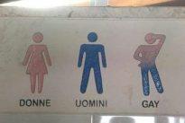 Lecce, il B&B ha la toilette per gay: scoppia la polemica