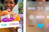 Su Instagram le Storie diventano interattive: arrivano i sondaggi con gli adesivi