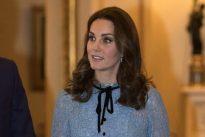 Kate, prima uscita pubblica con il pancino
