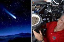 L'astronauta Nespoli &ldquo-intercetta&rdquo- spettacolare asteroide in fiamme che sfreccia a 144mila chilometri l'ora Video
