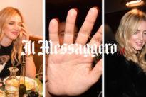 """Roma, Chiara Ferragni fa allontanare il """"king"""" Barillari da un ristorante"""