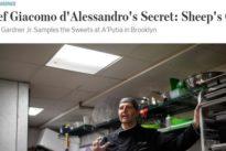 """New York, lo """"scienziato dei cannoli"""" palermitano conquista la Grande mela"""