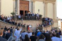 """Saluto fascista al funerale del """"camerata"""" Giardini, tra i fondatori del MSI. L'Anpi: «Vergogna»"""