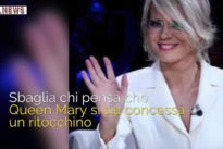 """Maria De Filippi ringiovanita al ritorno in tv, ma senza """"ritocchino"""""""
