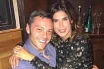 Elisabetta Canalis compie 40 anni e festeggia con Tiziano Ferro