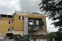 Crollo in un palazzo del centro a Ceprano: tanta paura, ma nessun ferito