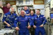 Parmitano arrivato sull'Iss: «Volo magnifico, ora inizia missione Beyond»