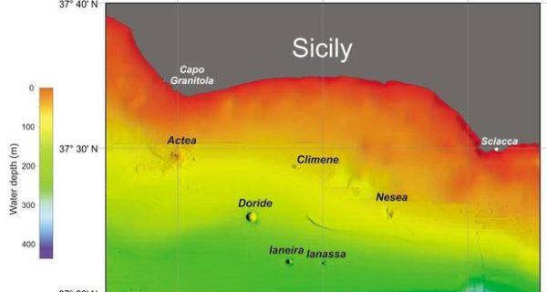 Sicilia, scoperti 7 nuovi vulcani: uno a ridosso della costa. «Vicini all'isola Ferdinandea»