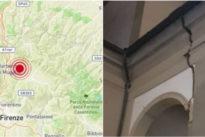 Terremoto a Firenze di 4.5: edifici lesionati al Mugello, molte scuole chiuse. Prefetto: «Nessun danno a persone»