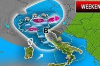 Meteo, torna il maltempo: sole fino a giovedì, poi piogge e crollo delle temperature