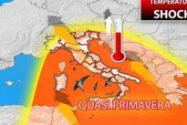 Meteo, anticipo di primavera al Centro-Sud: sole e temperature in salita sino a 17 gradi