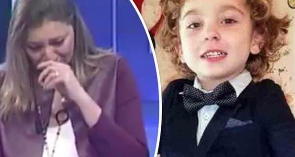 Diego muore a tre anni, la giornalista Rai si commuove in diretta